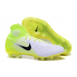 New 2017 Nike Magista Obra 2 FG ACC Motion Blur -White Volt Platinum