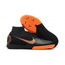 Nike Mercurial SuperflyX 6 Elite IC Futsal Black Orange
