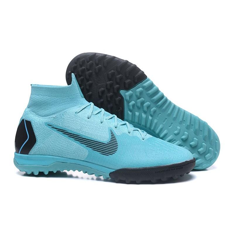 buy popular ca378 7bb54 Nike MercurialX Superfly 360 Elite TF Football Shoes - Blue ...