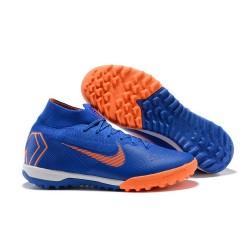 Nike MercurialX Superfly 360 Elite TF Football Shoes - Blue Orange