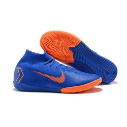 Nike Mercurial SuperflyX 6 Elite IC Futsal Blue Orange