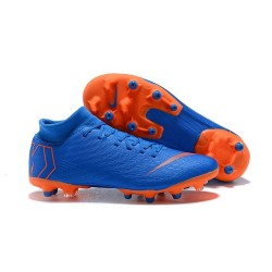 Nike Mercurial Superfly 6 Elite AG-Pro Soccer Boots Blue Orange