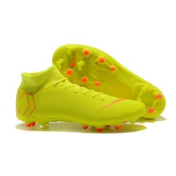 Nike Mercurial Superfly 6 Elite AG-Pro Soccer Boots Yellow Orange
