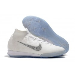 Nike Mercurial SuperflyX 6 Elite IC Futsal White Blue