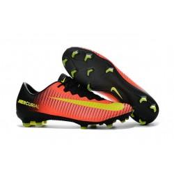 Nike Ronaldo Mercurial Vapor XI FG Football Shoes Orange Yellow Black