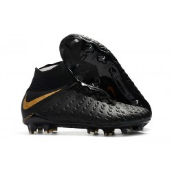 Nike Hypervenom Phantom III FG ACC Boot Black Gold
