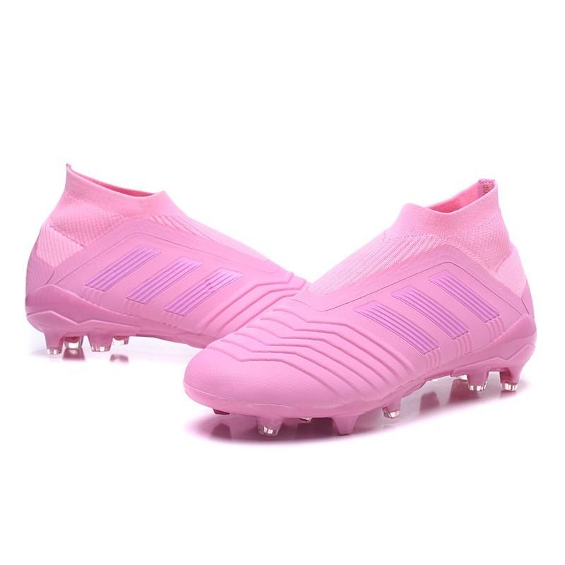adidas Men's Predator 18+ FG Soccer Boots Pink