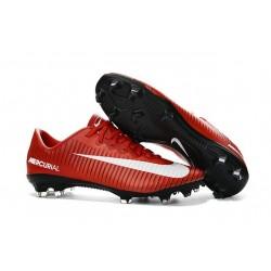 Nike Ronaldo Mercurial Vapor XI FG Football Shoes Red White