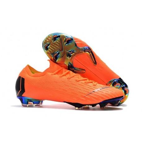 205b4707012 New World Cup 2018 Nike Mercurial Vapor XII FG Cleats - Orange Black