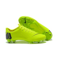 New World Cup 2018 Nike Mercurial Vapor XII FG Cleats - Green Black