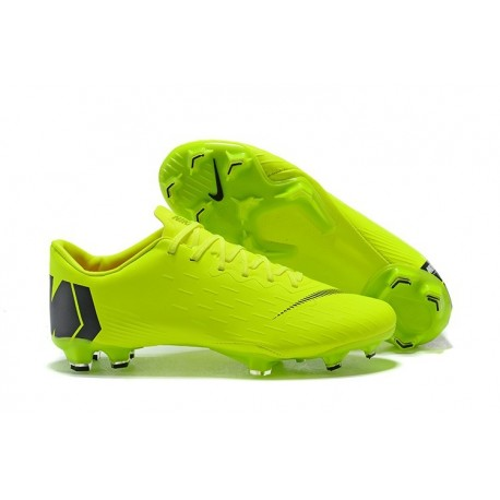 the latest 67485 a4143 New World Cup 2018 Nike Mercurial Vapor XII FG Cleats - Green Black