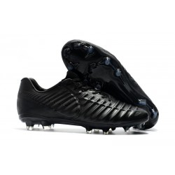 Nike Tiempo Legend VII FG Firm Ground Cleats - Full Black
