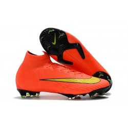 Nike Mercurial Superfly 6 Elite FG Firm Ground Cleats - Orange Yellow