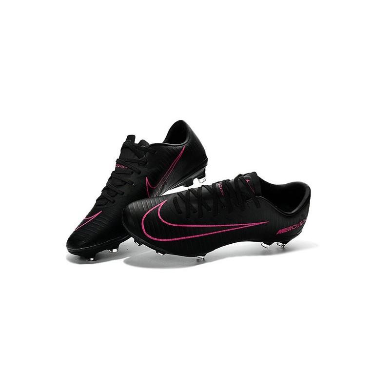 nike ronaldo mercurial vapor xi fg football shoes black pink