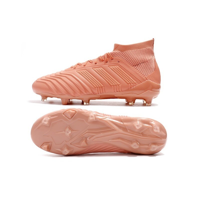 New World Cup 2018 adidas Predator 18.1 FG Soccer Shoes Pink