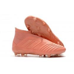 New 2018 adidas Men's Predator 18+ FG Pink Soccer Boots