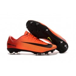 Nike Ronaldo Mercurial Vapor XI FG Football Shoes Orange Black