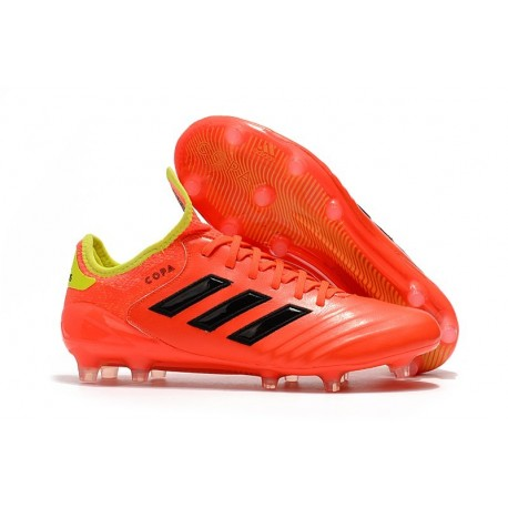 adidas Men's Copa 18.1 FG Soccer Cleats World Cup 2018 Orange