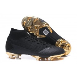 Nike Mercurial Superfly VI Elite FG World Cup 2018 Boots Black Gold