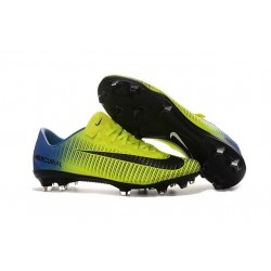 Nike Ronaldo Mercurial Vapor XI FG Football Shoes Green Blue Black