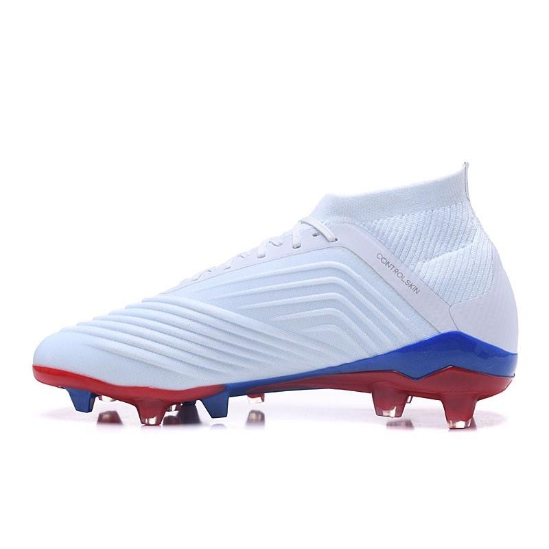 95ba60f9062 New adidas Predator 18.1 Telstar FG Soccer Shoes White Silver Maximize.  Previous. Next