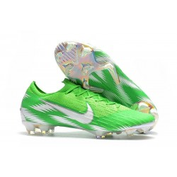 New World Cup 2018 Nike Mercurial Vapor XII FG Cleats - Green Silver