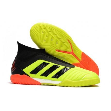 adidas PP Predator Tango 18+ IN Indoor Shoes - Yellow Black