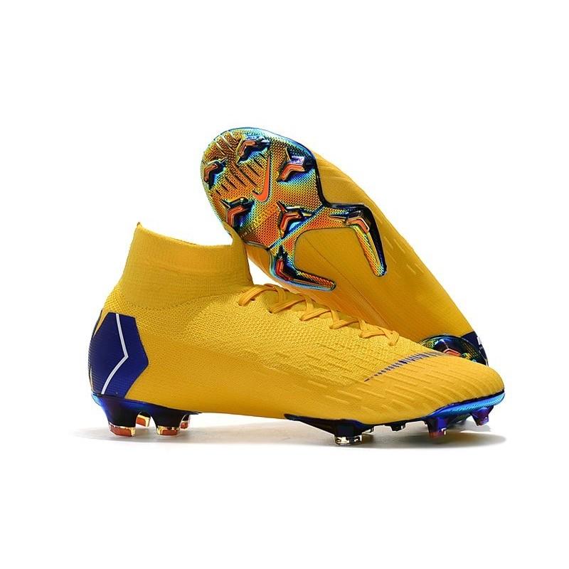 ce9da9f033da Nike Mercurial Superfly VI Elite FG World Cup 2018 Boots Yellow Blue  Maximize. Previous. Next
