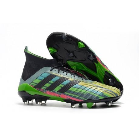 New adidas Predator 18.1 FG Soccer Shoes Mixed-color
