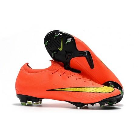 Nike Mercurial Vapor 12 Elite FG Soccer Boot Orange Yellow