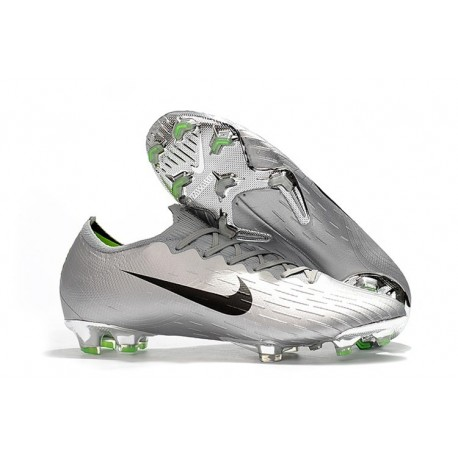 72db3eb411d New World Cup 2018 Nike Mercurial Vapor XII FG Cleats - Silver Black