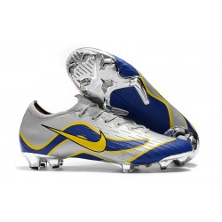 Nike Mercurial Vapor 12 Elite FG Soccer Boot Blue Silver Yellow