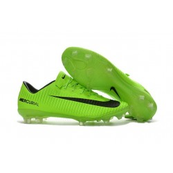 Nike Mercurial Vapor 11 FG ACC Mens Soccer Boots Green Black