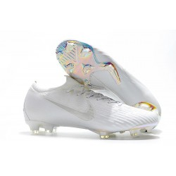 Nike Mercurial Vapor 12 Elite FG Soccer Boot Full White