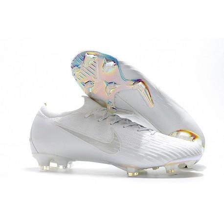 Nike Mercurial Vapor 12 Elite FG Soccer Boot Full White