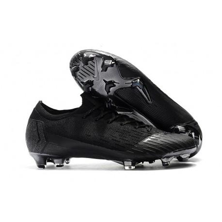 Nike Mercurial Vapor 12 Elite FG Soccer Boot Full Black