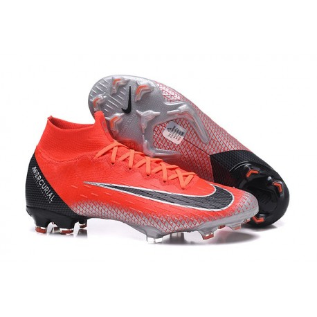 Nike Mercurial Superfly VI Elite Dynamic Fit FG - Crimson Black