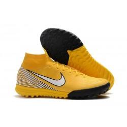 Nike MercurialX Superfly 360 Elite TF Neymar Yellow White