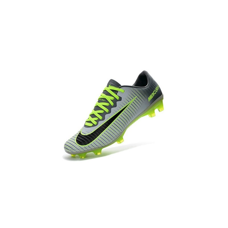 df69518bd904 Nike Mercurial Vapor 11 FG ACC Mens Soccer Boots - Pure Platinum Black  Green Maximize. Previous. Next