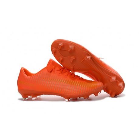 finest selection 1582a 41dd2 Nike Mercurial Vapor 11 FG ACC Mens Soccer Boots All Orange