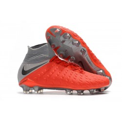 Nike Hypervenom Phantom III FG ACC Boot Red Grey