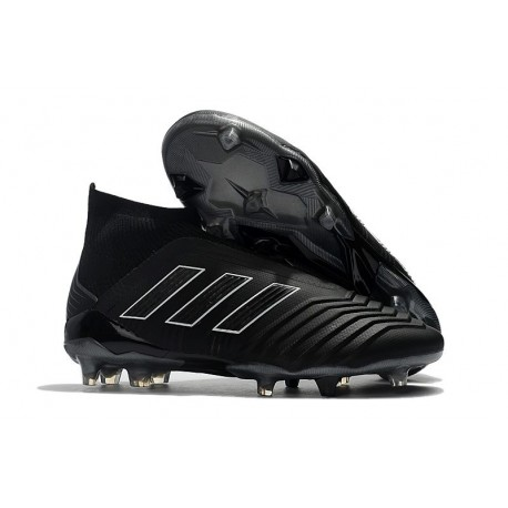 adidas Men's Predator 18+ FG Shadow Mode Soccer Boots Black