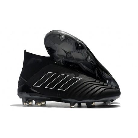 adidas Men's Predator 18+ FG Shadow Mode Soccer Boots Black