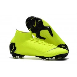 Nike Mercurial Superfly VI Elite Dynamic Fit FG - Volt Black