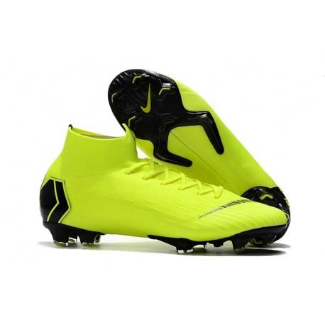 Nike Mercurial Superfly VI Elite Dynamic Fit FG - Volt Black