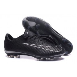 Nike Mercurial Vapor XI FG New Soccer Cleat Black White