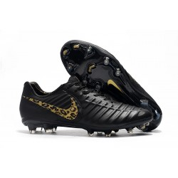 Nike Tiempo Legend 7 FG ACC New Soccer Cleat - Black Safari