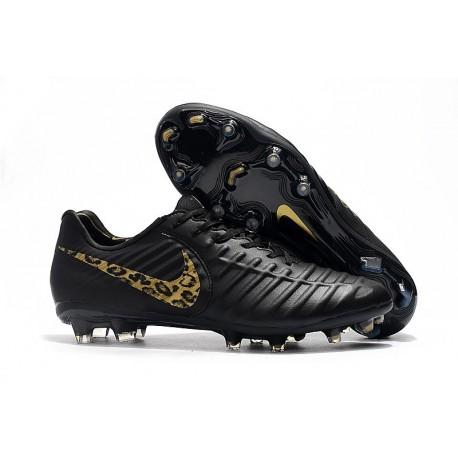 Nike Tiempo Legend 7 FG ACC New Soccer Cleat - Black Safari