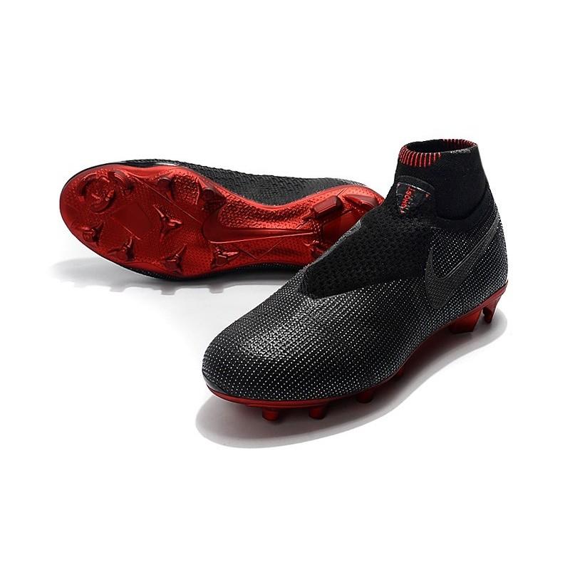 e1766f3bc883 Nike Phantom Vision Elite DF FG Jordan x PSG Boots Black Red Maximize.  Previous. Next