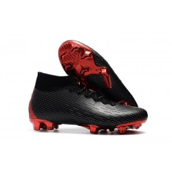 Nike Mercurial Superfly VI Elite DF FG Nike x Jordan Black Red